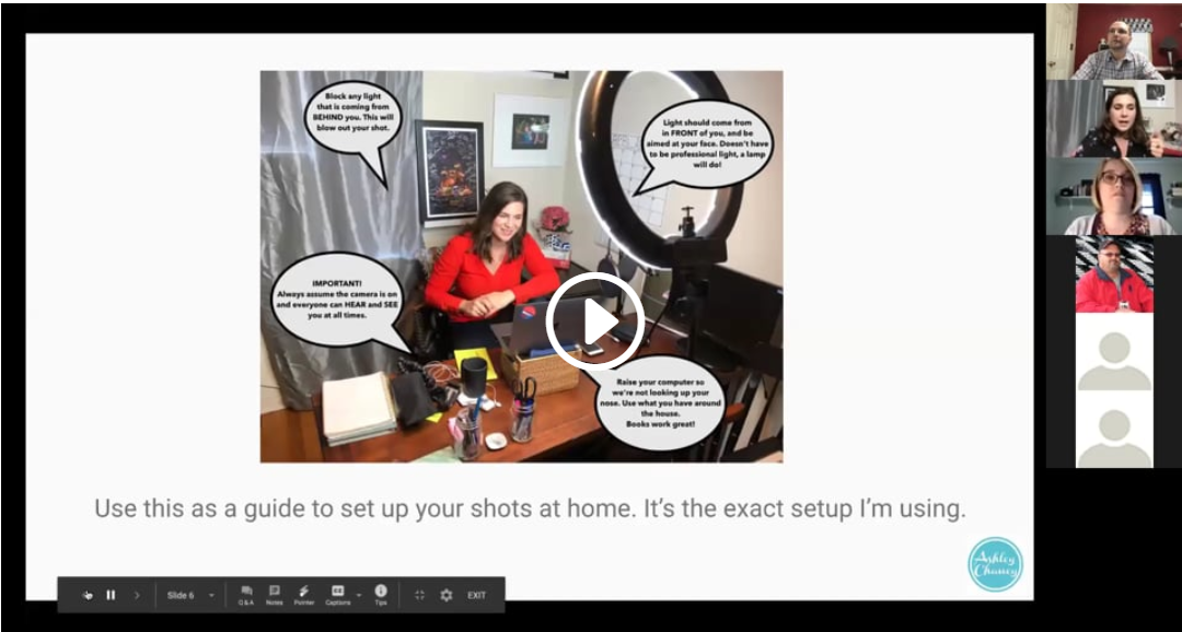 How To Get Yourself, And Your Home, Camera-Ready for Online Video